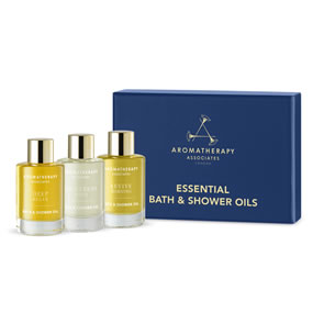 Aromatherapy Associates Essential Bath and Shower Oils Collection (3x9ml)