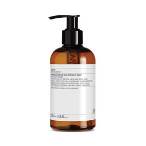 Evolve Organic Beauty Pomegranate and Goji Aromatic Wash (250ml)