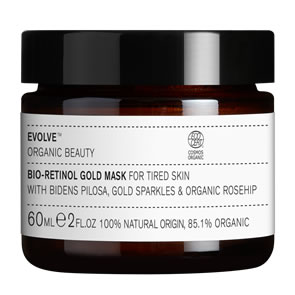 Evolve Organic Beauty Bio-Retinol Gold Mask (60ml)