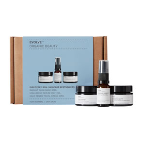 Evolve Organic Beauty Discovery Box: Skincare Bestsellers