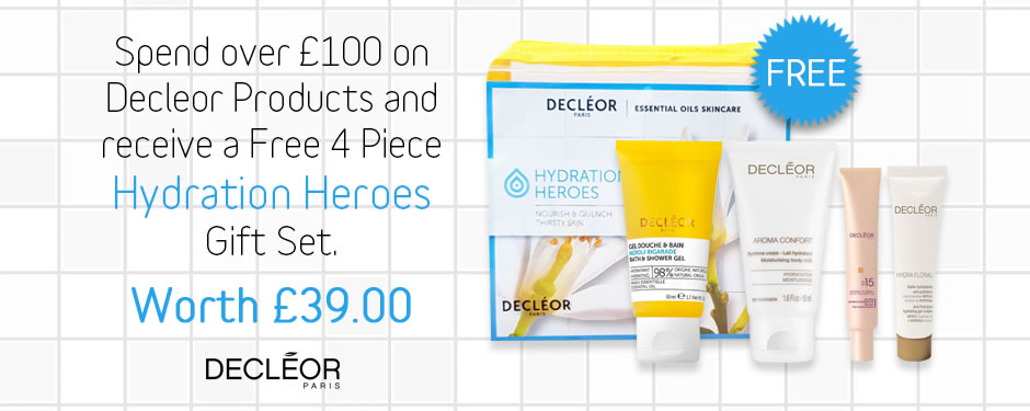 FREE! Decleor Hydration Heroes Gift Set