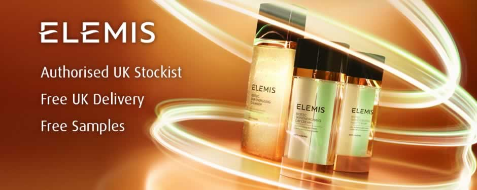 Elemis Skincare Products available from Pure Beauty