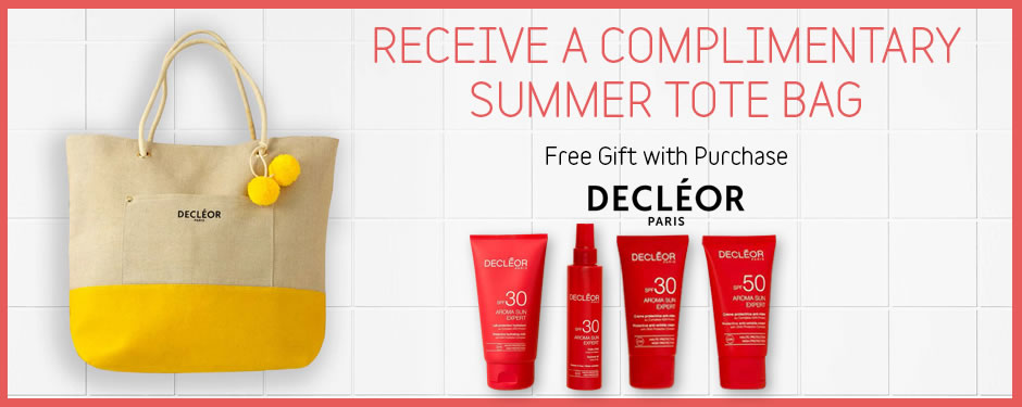 Free Decleor Summer Tote Bag
