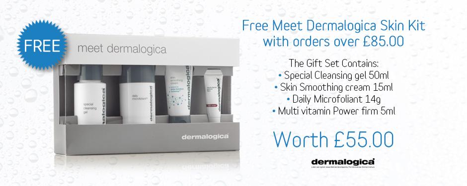 FREE! Meet Dermalogica Kit