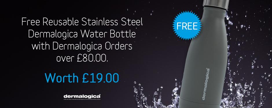 FREE! Reusable Dermalogica Water Bottle