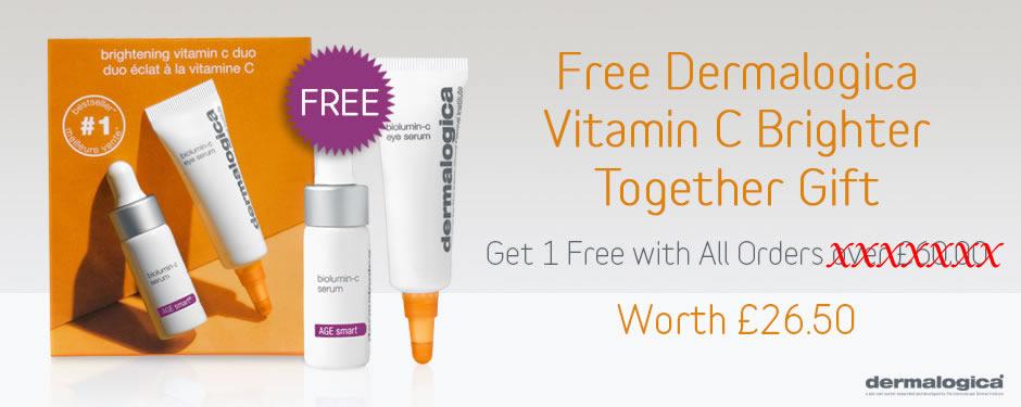 Free Dermalogica Brighter Together Gift Set