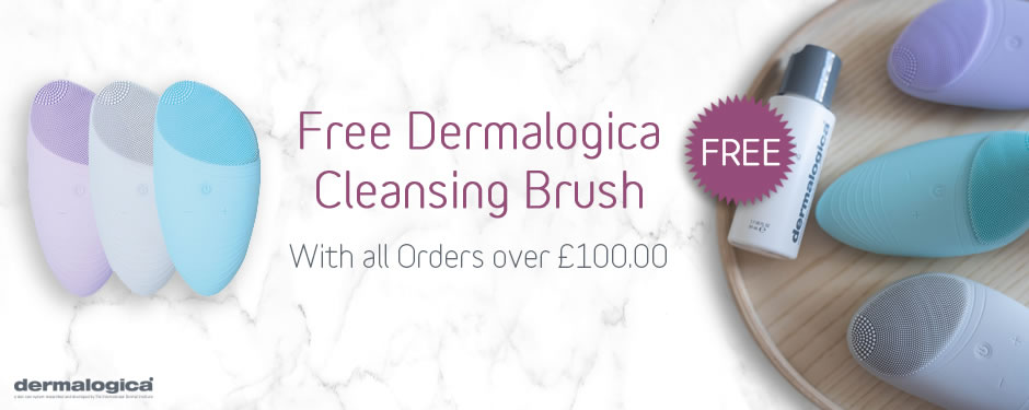 FREE! Dermalogica Cleansing Brush