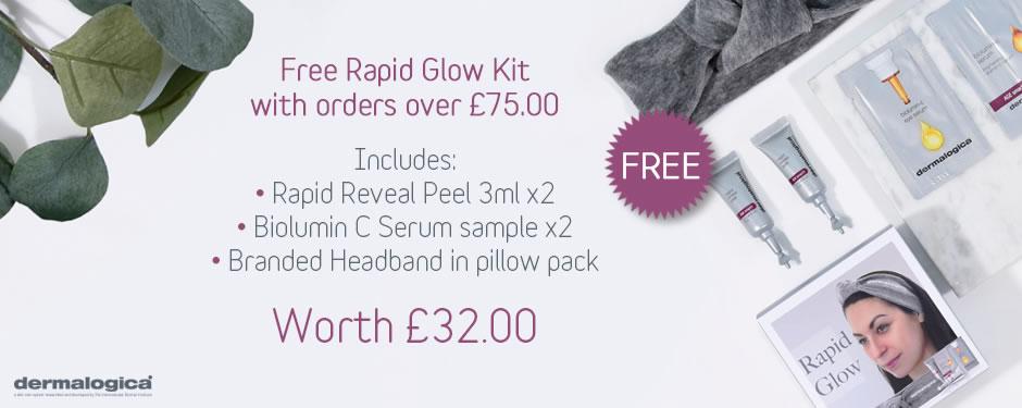 FREE! Dermalogica Rapid Glow Kit