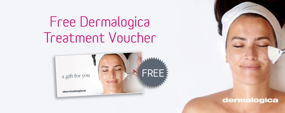 Free Dermalogica Treament Voucher