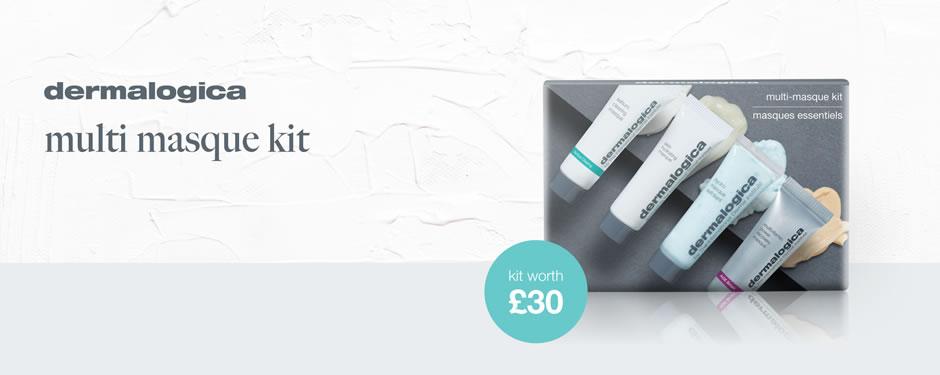 Free Dermalogica Multi-Masque Kit worth £30