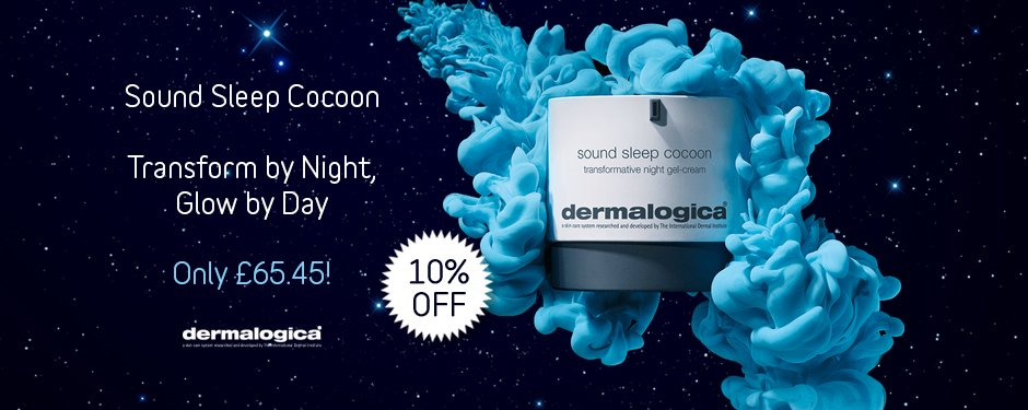 Dermalogica Sound Sleep Cocoon available now
