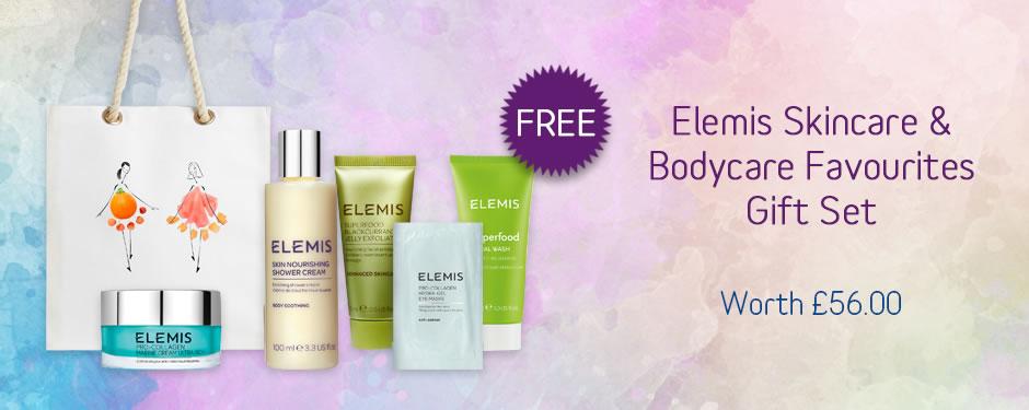 FREE! Elemis Skincare and Bodycare Favourites Gift Set