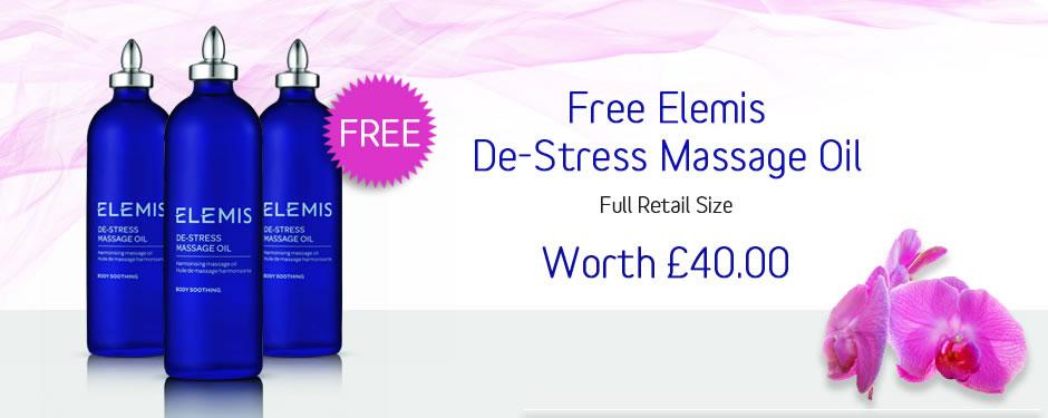 Free Elemis De-Stress Massage Oil