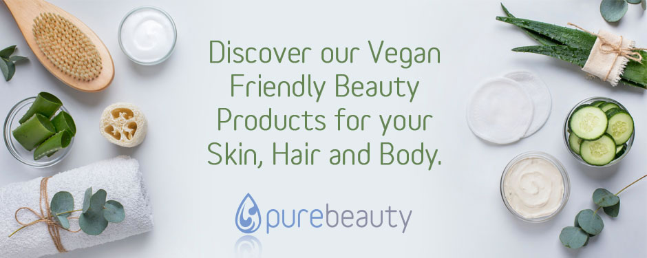 Vegan Friendly Products from Pure Beauty