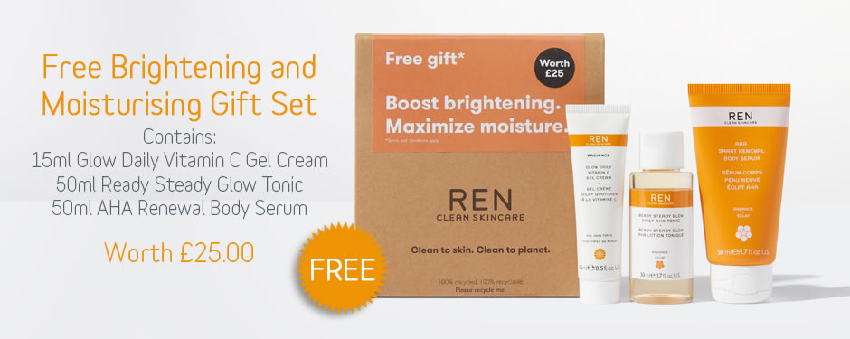 Free REN Clean Skincare Gift with Purchase